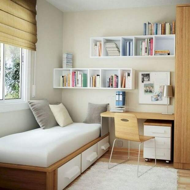 25 спасительных идей хранения для ограниченного пространства