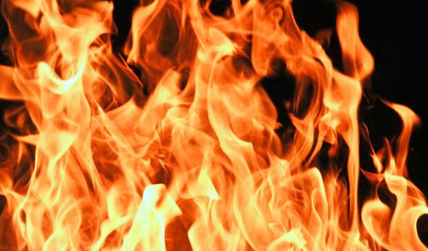 ВИркутской области загорелась мебельная фабрика