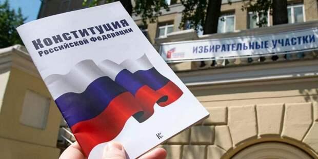 Композитор Алексей Рыбников принял участие в голосовании по поправкам к Конституции. Фото: mos.ru