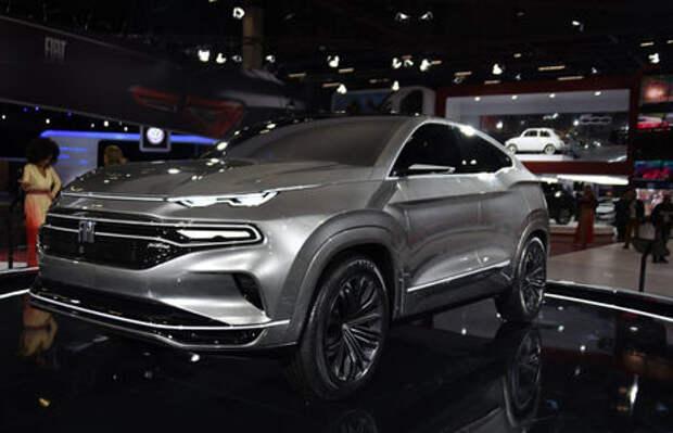 Fiat показал купе-кроссовер. Это будущий конкурент Renault Askana!
