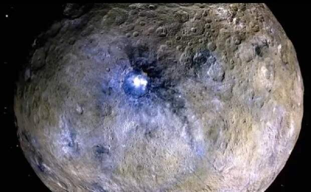 Астрономы раскрыли тайну ярких аномалий на Церере