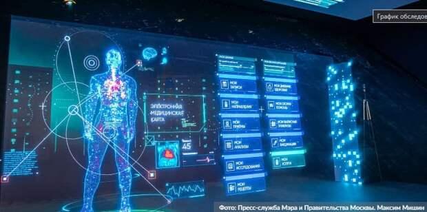 Москва расширяет эксперимент по внедрению технологий искусственного интеллекта в здравоохранении. Фото: М. Мишин mos.ru