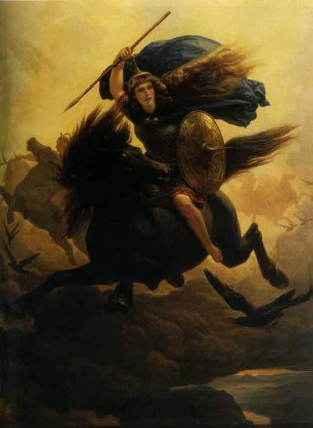 Валькирия, Петер Николай Арбо, 1869 год.