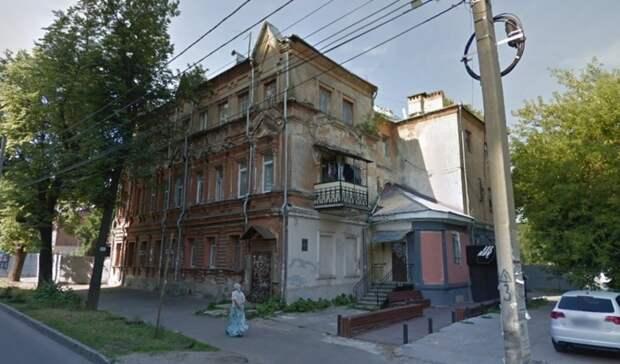ДУК наказали за разваливающийся исторический дом в Нижнем Новгороде