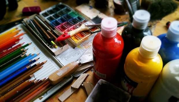 Юные подольчане поучаствуют в мастер‑классе по рисованию акварелью 18 октября