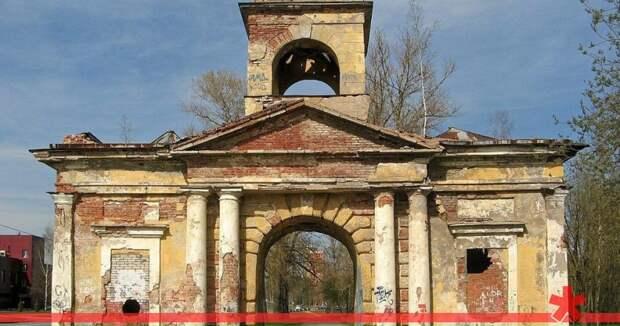 В Петербурге сдадут ворота Охтинских пороховых заводов за рубль