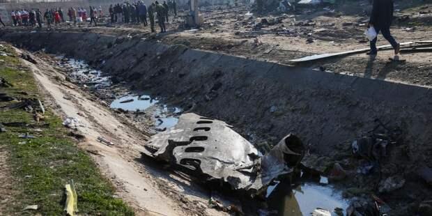 Тегеран заявил, что рухнувший украинский Boeing 737 загорелся в воздухе