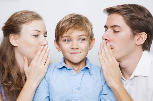 Пять вещей, которые должны говорить родители своим детям