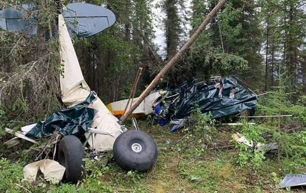 На Аляске столкнулись два самолета: 7 погибших