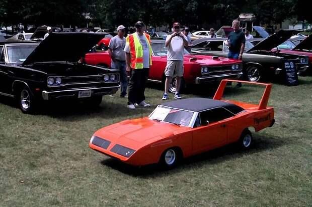 Plymouth Superbird авто, игрушка, копия, миниавтомобиль, моделизм, модель, самоделка, своими руками