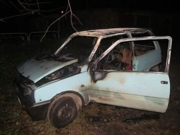 «Не доставайся ж ты никому»: муж сжег машину бывшей супруги