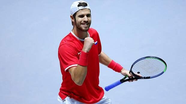 В русском дерби на US Open победил Хачанов. Вернувшийся спустя 3 года в теннис Кузнецов взял всего 8 геймов