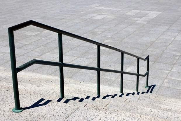 Лестница, Железнодорожный, Перила, Шаги
