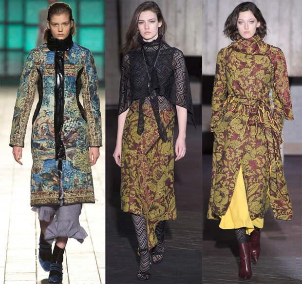 Гобеленовые ткани и модные тенденции