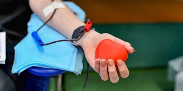 Врачи больницы Спасокукоцкого сдали более 36 литров крови