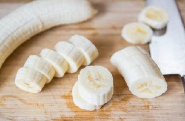 как пожарить банан