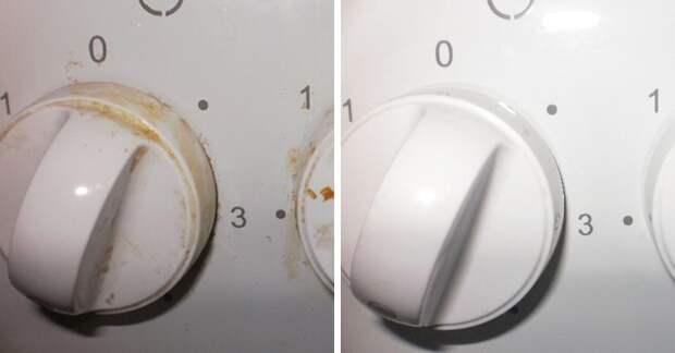 Надоели грязные ручки кухонной плиты?