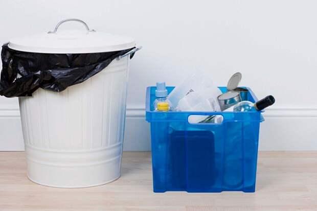 8. Отмойте мусорное ведро кухня, советы, хитрости