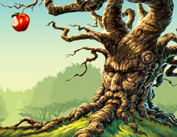Загадки планеты Земля, дерево, растение, www.ufospace.net