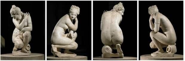 «Скорчившаяся Венера»: статуя в странной позе