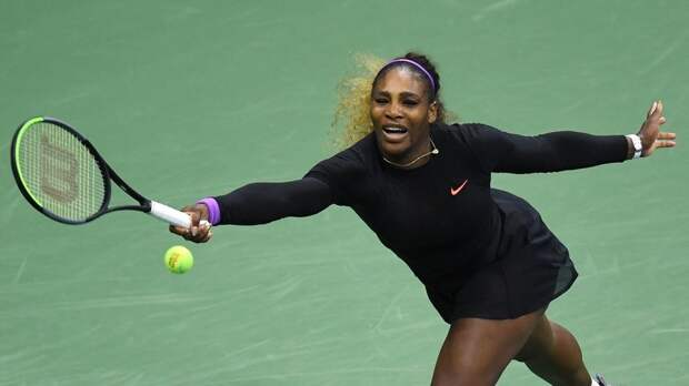 Серена Уильямс вышла в 1/8 финала Открытого чемпионата США по теннису