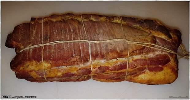 Бекон варено – копченый бекон, бекон варено копченый, еда, кулинарные рецепты, подчеревок, свинина