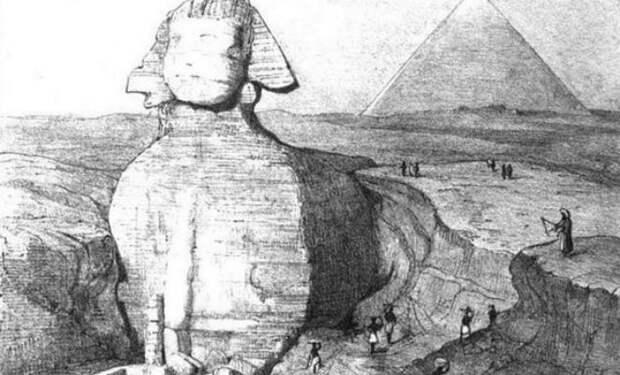 Дверь в Сфинксе: находка в Египте