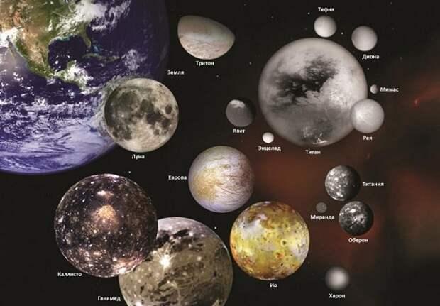 10 самых интересных спутников Солнечной системы