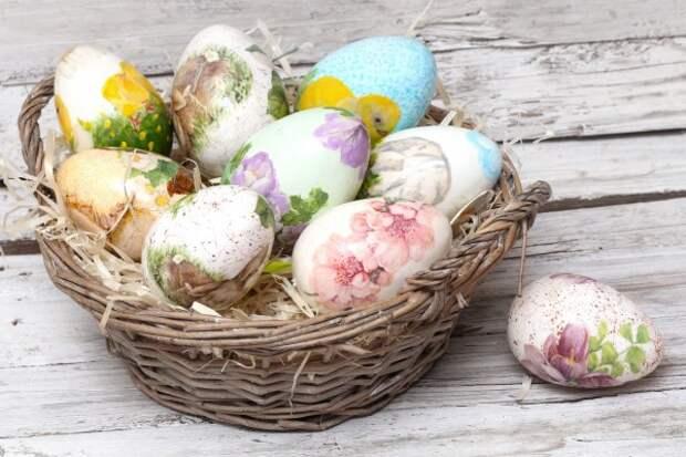 Простой и недорогой способ сделать из пасхального яйца настоящий шедевр