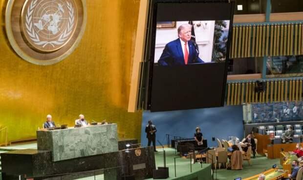 NYT: речи Трампа и Си на Генассамблее ООН подчеркнули растущий раскол между сверхдержавами