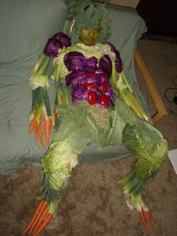 Чудо-юдо огородное. Забавные фотографии овощей и фруктов