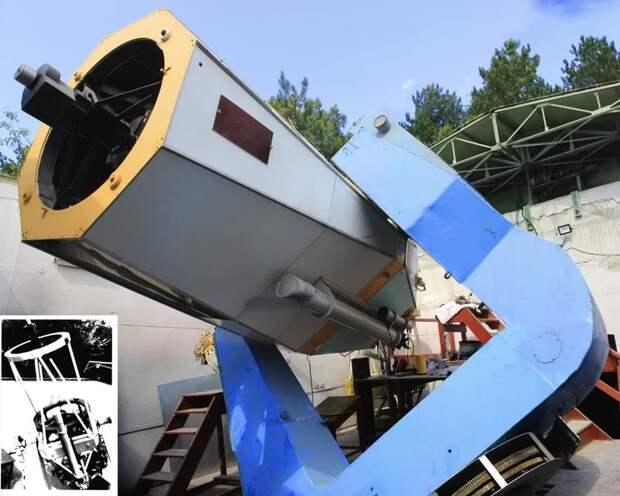 Крымские ученые восстановили 43-летний телескоп «Синтез»