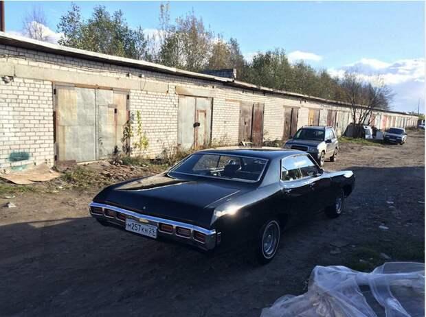 Chevrolet Impala 1969: старое авто получило новую жизнь