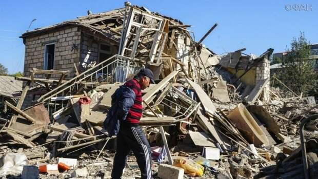 Скабеева показала, как жители Карабаха сжигают свои дома