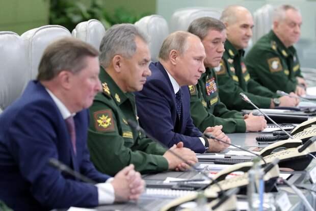 Путин дал поручение Шойгу после решения США по ДРСДМ