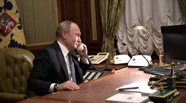 В Кремле раскрыли детали разговора между президентами России и США
