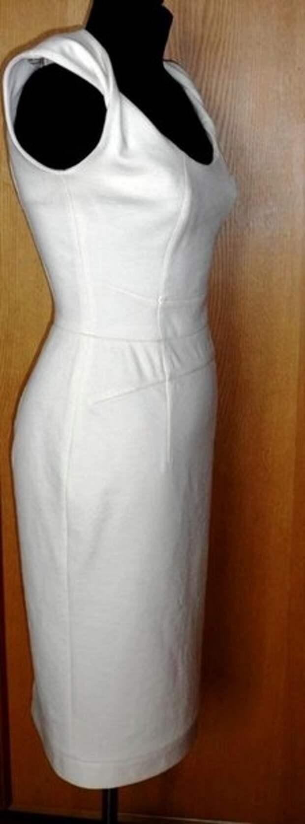 Платье с перекрученными бретелями (Diy)
