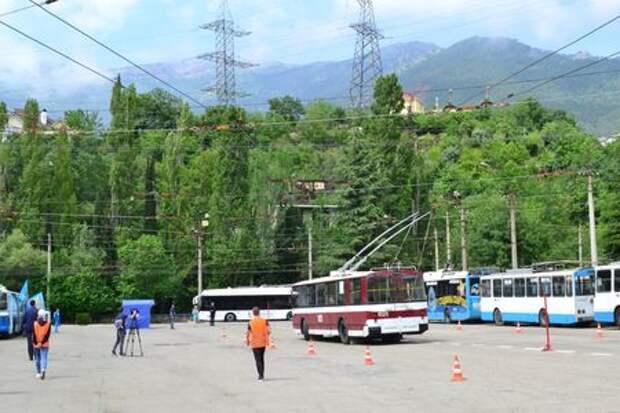 Завершился конкурс «Лучший водитель троллейбуса»