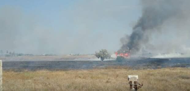 Срочно! В Севастополе горит военный аэродром (ВИДЕО)