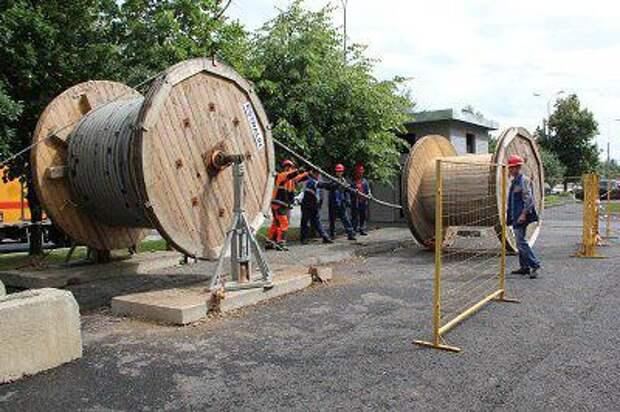 Энергетики. Фото из архива МОЭСК