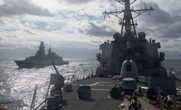 Горькое прозрение на Западе: «Чёрное море – это русский «тир», а корабли ВМС США в нём – лёгкие мишени»