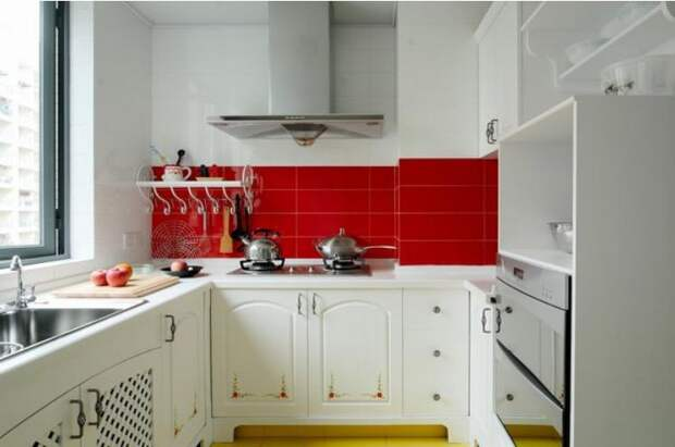 Как визуально увеличить маленькую кухню идеи, советы