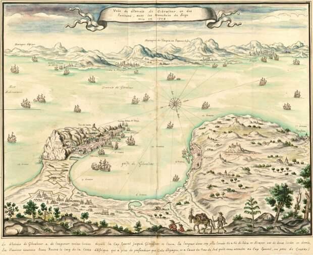 Французский флот у Гибралтара, 1704 год - Великие крейсерские войны: драка за испанское наследство   Военно-исторический портал Warspot.ru