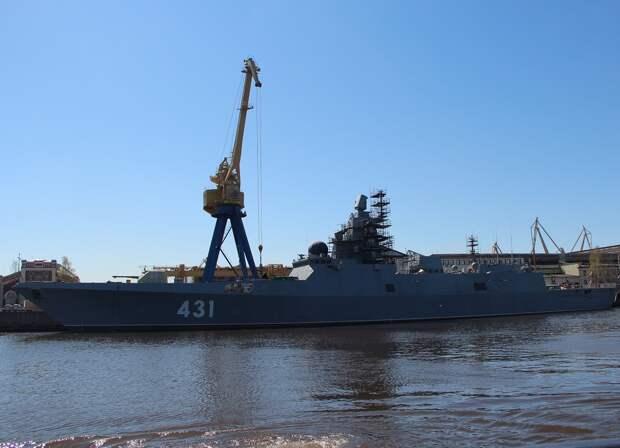 """""""Северная верфь"""" начала испытания дизель-генераторов на фрегате «Адмирал флота Касатонов»"""