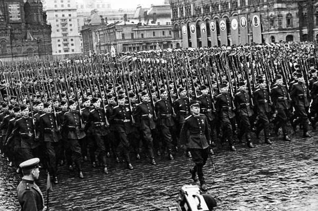 Парад Победы 24 июня 1945 года!