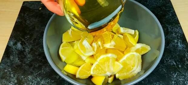 Трачу всего 10 минут на витаминную заготовку из имбиря, лимона, меда! Делаю всю осень и зиму каждый год