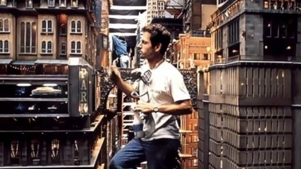 Макет Нью-Йорка, построенный для съемок фильма