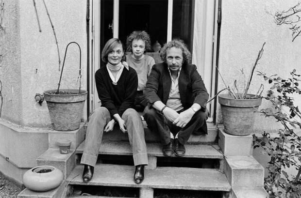 Пьер Ришар с женой Даниэль и их сыном Оливье история, ретро, фото