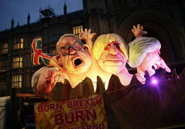 Выхода Великобритании из ЕС в срок не будет