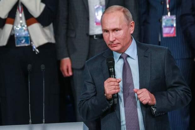 Путин поздравил Пашиняна с назначением на должность премьер-министра